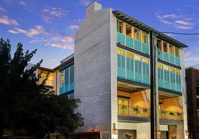 Houston Condo/Townhouse For Sale: 2409 Driscoll Street