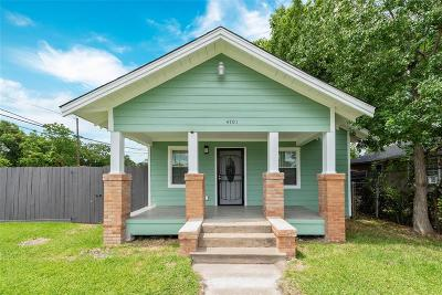 Single Family Home For Sale: 4701 New Orleans Street