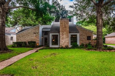 Houston Single Family Home For Sale: 7406 Benwich Circle