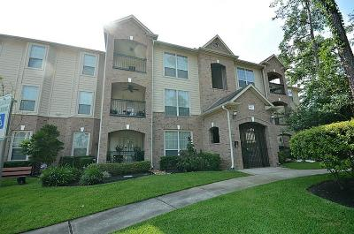 The Woodlands Condo/Townhouse For Sale: 6607 Lake Woodlands #522