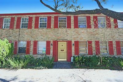 Houston Condo/Townhouse For Sale: 11607 Chimney Rock Road #C