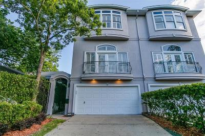 Houston Condo/Townhouse For Sale: 2304 Albans Road #B