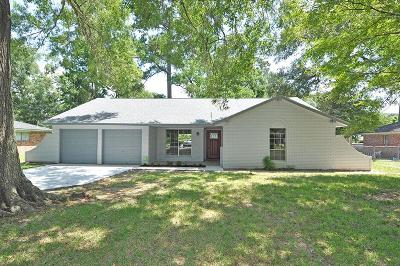 Huffman Single Family Home For Sale: 24114 E Lake Houston Parkway