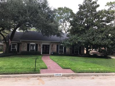Houston Single Family Home For Sale: 14510 Bramblewood Drive