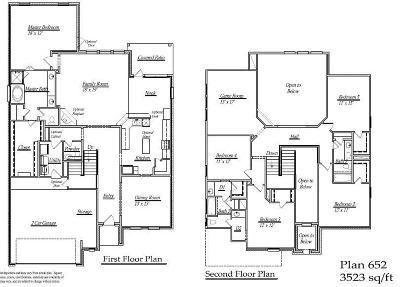 Fulshear Single Family Home For Sale: 32314 Hamilton Crest Drive