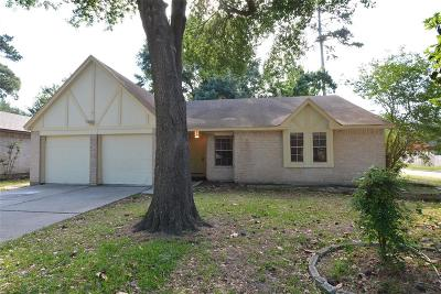 Humble TX Single Family Home For Sale: $159,000