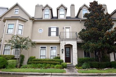Houston Condo/Townhouse For Sale: 3318 Crosspark Place