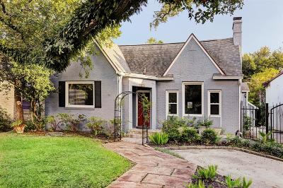 Houston Single Family Home For Sale: 1935 Norfolk Street