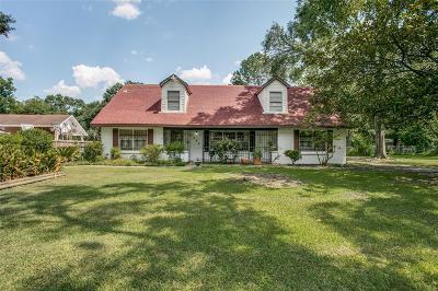 Houston Single Family Home For Sale: 7420 Brace Street