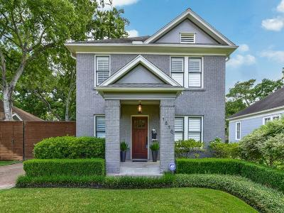 Houston Single Family Home For Sale: 1816 Cortlandt Street