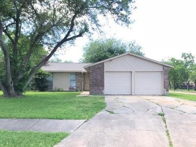Missouri City Single Family Home For Sale: 15902 Kenbriar Drive