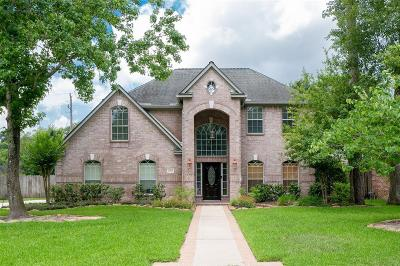 Tomball Single Family Home For Sale: 24111 N Riding Drive