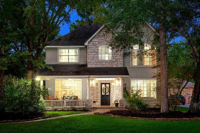 The Woodlands Single Family Home For Sale: 6 Petalcup Place