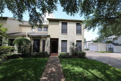 Bellaire Condo/Townhouse For Sale: 5210 Palmetto Street