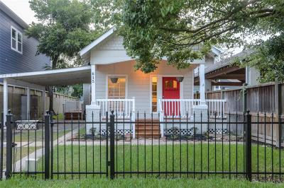 Houston Single Family Home For Sale: 615 Allston Street