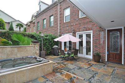 Houston Condo/Townhouse For Sale: 2147 Kipling Street