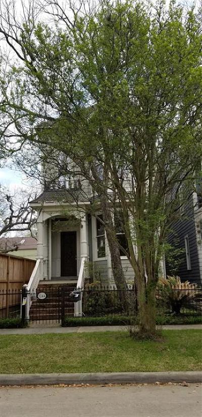 Houston Single Family Home For Sale: 1244 Cortlandt Street
