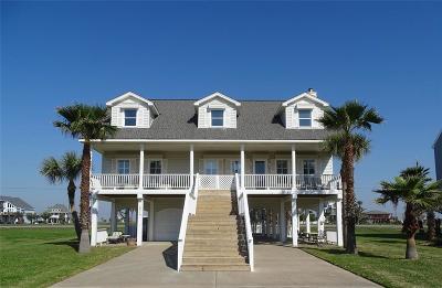 Galveston Single Family Home For Sale: 18710 W De Vaca