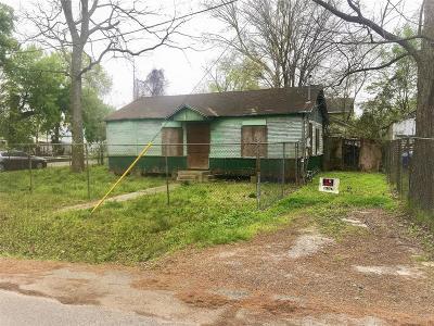 Houston Single Family Home For Sale: 7118 Boyce Street