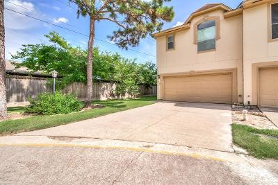 Houston Condo/Townhouse For Sale: 880 Tully Road #90