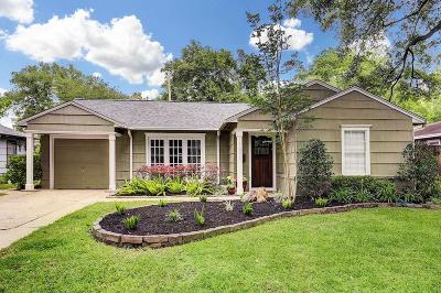 Timbergrove Manor Single Family Home For Sale: 1011 Waltway Drive