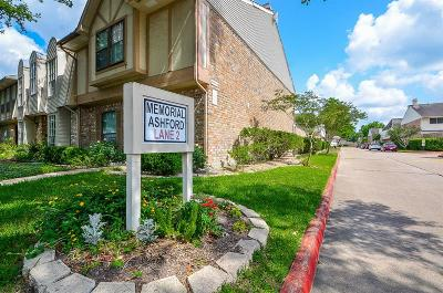 Energy Corridor Condo/Townhouse For Sale: 14706 Perthshire Road #G