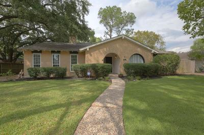 Houston Single Family Home For Sale: 10722 Sugar Hill Drive