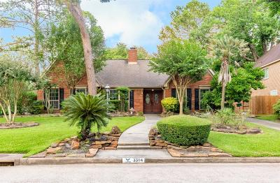 Houston Single Family Home For Sale: 3314 Woodland View Drive