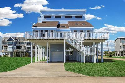Galveston Single Family Home For Sale: 17702 Glei