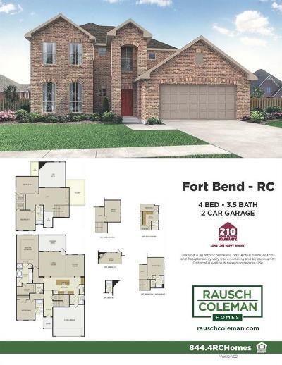 Rosenberg Single Family Home For Sale: 2318 Leonetti Lane