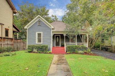 Houston Single Family Home For Sale: 537 W 17th Street