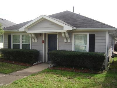 Katy Single Family Home For Sale: 6127 Settlers Square Lane