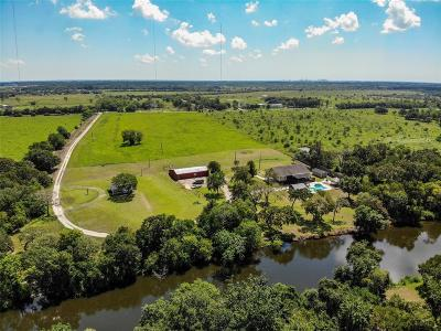 Alvin Single Family Home For Sale: 8110 County Road 198