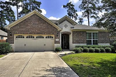 Montgomery Single Family Home For Sale: 115 Forest Elk Place