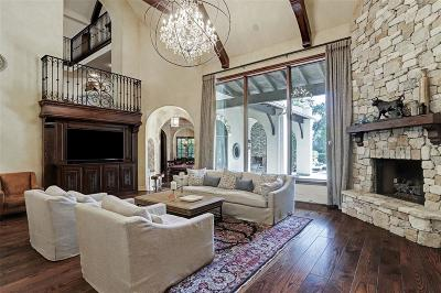 The Woodlands TX Single Family Home For Sale: $2,799,999