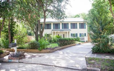 Houston Single Family Home For Sale: 406 Redway Lane