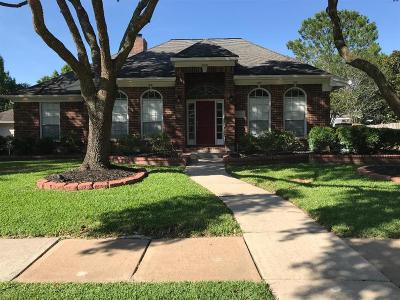 Friendswood Single Family Home For Sale: 1813 Parkview Drive