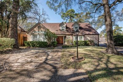 Houston Single Family Home For Sale: 407 Butterfly Court