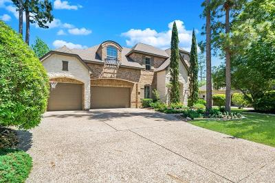 The Woodlands TX Single Family Home For Sale: $1,100,000