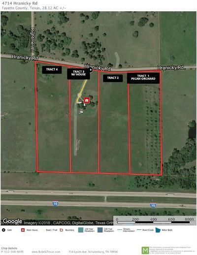 Schulenburg TX Farm & Ranch For Sale: $105,000