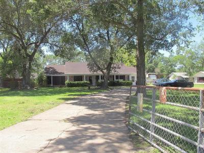 Channelview Single Family Home For Sale: 1419 Park Drive