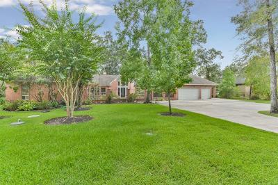 Magnolia Single Family Home For Sale: 10611 Crystal Cove Drive