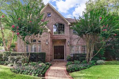 Hunters Creek Village Single Family Home For Sale: 1 Creekside Circle
