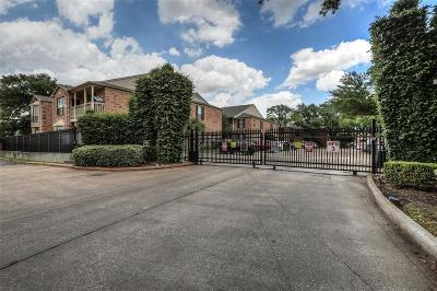 Harris County Condo/Townhouse For Sale: 2255 Braeswood Park Drive #136