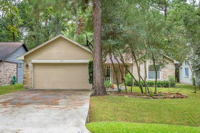 The Woodlands Single Family Home For Sale: 20 Edgewood Forest Court