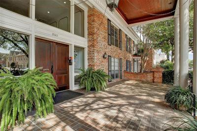 Houston Condo/Townhouse For Sale: 2822 Briarhurst Drive #36