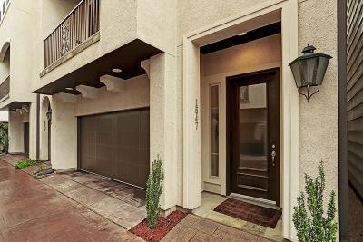 Houston Single Family Home For Sale: 1547 Haddon Street