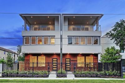 Galveston County, Harris County Single Family Home For Sale: 4316 Feagan Street #A
