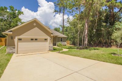 Montgomery Single Family Home For Sale: 3822 Mystic Circle