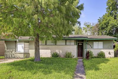 Galveston County, Harris County Single Family Home For Sale: 5743 Schevers Street